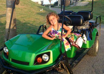gallery Girl Green Cart